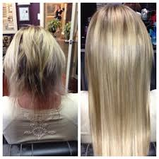 Thin Hair Extensions Before And After by Before After Klix Hair Extensions Yelp