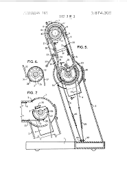 drafting table vancouver patent us3874309 articulated column drafting table google patents