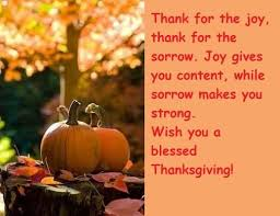 thanksgiving wishes messages 2016
