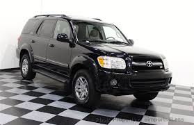 2005 toyota sequoia price 2005 used toyota sequoia 4wd v8 limited 6 passenger at