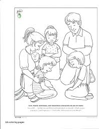 lds coloring pages i can be a good exle lds girl praying coloring page pages best primary images on for of