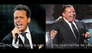 Luis Miguel Memes - luis miguel con memes se burlan del sobrepeso de el sol de