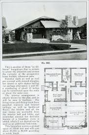 The Bungalow House 1910 Clipped Gable Bungalow House Design No 583 Single Story