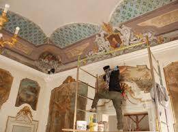 soffitti dipinti restauro dipinti perartem