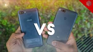 Zenfone 4 Max Xiaomi Mi A1 Vs Asus Zenfone 4 Max Pro Test