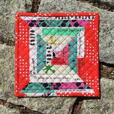 Quilted Mug Rug Pattern 9 Top Mug Rug Pattern By Silver Lane Quilting Techsansviolence