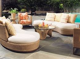 luxury modern pool side patio furniture set with chaise lounge