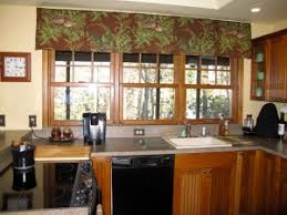 modern kitchen curtains and valances window treatments design ideas