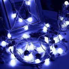 drop down christmas lights waterproof ball led light backdrop string fairy xmas wedding party