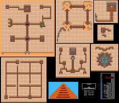 Rock Tunnel Leaf Green Map Dragon Warrior Iii Dungeon U0026 Tower Maps Nes Realm Of Darkness
