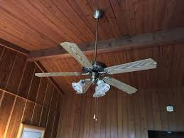Lodge Ceiling Fans With Lights An Ceiling Fan Which A Light Fixture Picture Of