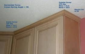 Cabinets Crown Molding Alluring 40 How To Install Kitchen Cabinets Crown Molding