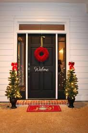 front doors ways to decorate front door for christmas decorating