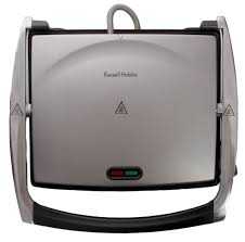 Sandwich Toaster Online Russell Hobbs Sandwich Press Brushed Chrome 176649 Buy