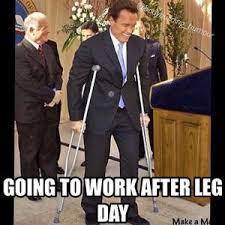 Leg Day Meme - leg day jokes kappit