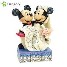 mickey and minnie wedding salada bowl rakuten global market enesco enesco disney