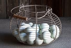 egg baskets wire egg basket