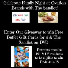 r ovation cuisine turn the sandlot into family with ovation brands parenting