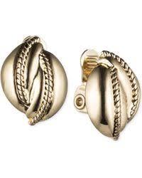 earrings new york lyst shop women s jones new york earrings from 12