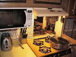 wallpaper backsplash behind stove wallpapersafari