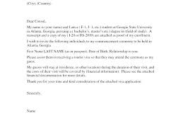 Invitation Letter Us Visa luxury invitation letter for visitor visa friend usa and bunch ideas