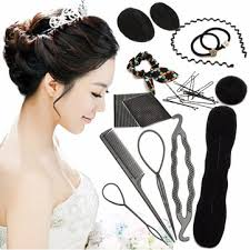 bun accessories hair twist styling clip stick bun maker braid tool kit hairpins