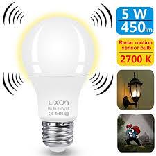 motion sensor light not working motion sensor light bulb 5w a19 radar motion detector light dusk to