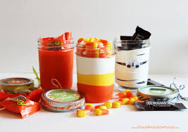 easy halloween treat jars with cut up balloons u0026 mason jars