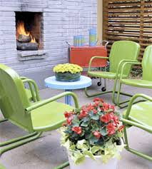 Motel Chairs A Selection Of Colorful Details For The Garden And Backyard