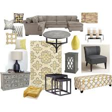 Yellow And Grey Home Decor Grey And Yellow Living Room