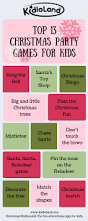 top 13 christmas party games for kids kidloland