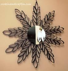 mirrored wall hanging toilet paper roll art cookin and craftin