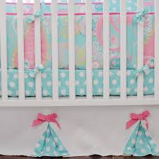 Blue And Green Crib Bedding Sets Pixie Baby In Aqua Crib Bedding Set By My Baby Sam