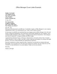 Sle Cover Letter For Office Manager office manager cover letters 5 letter exle trcgdlhf