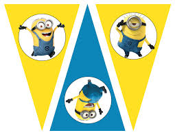 free despicable party printables birthday party theme free