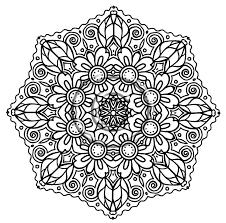 flower mandala coloring pages chuckbutt com