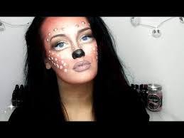 bambi deer makeup tutorial youtube