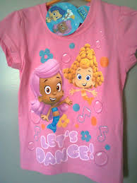 Bubble Guppies Toddler Bedding by Nwt Bubble Guppies T Shirt Size 4 Molly And Deema Let U0027s Dance