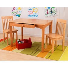 wooden kid table and chairs