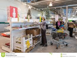 ikea marketplace interior of the ikea samara store editorial stock image image