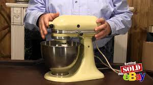 Kitchen Aid Mixers by Ebay Treasure Tips Old Kitchen Aid Mixer Good Seller On Ebay