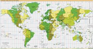 Google Map Route by Time Zones Of The The World Google Maps World Gazetteer U0026 Google