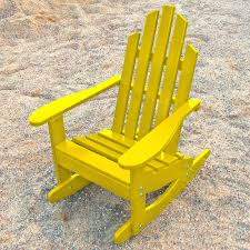 junior adirondack rocking chair dfohome