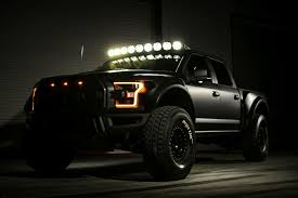 Ford Raptor Yellow - 2017 ford f 150 raptor pre runner by deberti design lights on