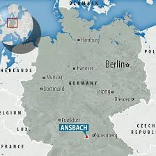 Dortmund Germany Map by Germany Bomber In Ansbach Had Pledged Allegiance To Isis