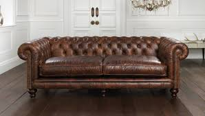 Chesterfield Sofa With Chaise by Warm Rustic Leather Sectional Sofa Design Ideas And Decor
