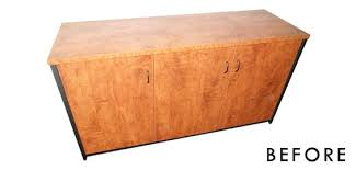 Wood Flat File Cabinet Furniture Flip Easy Diy Faux Flat File No Power Tools Required