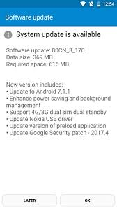 update android os nokia 6 starts getting android 7 1 1 update gsmarena news