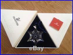 2000 swarovski snowflake ornament