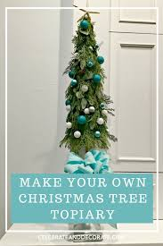 christmas topiary a christmas tree topiary celebrate decorate